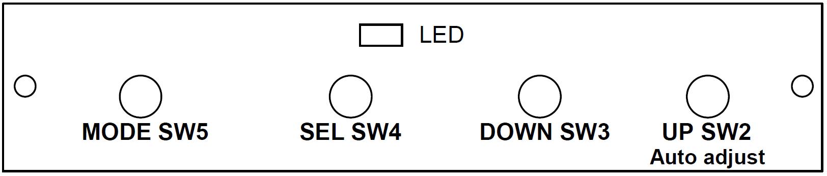 CGA LCD Auto - Manual Adjust